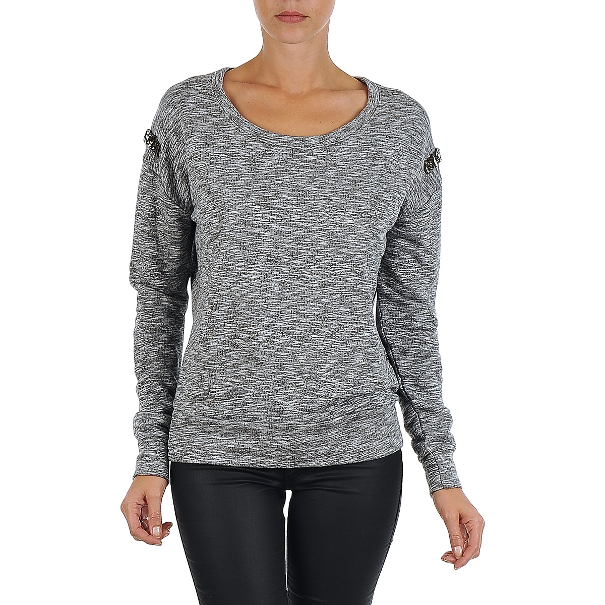 Vila SPACEY SWEAT TOP Cinza