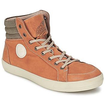 Sapatos Homem Sapatilhas de cano-alto Pataugas CLEFT H Camel