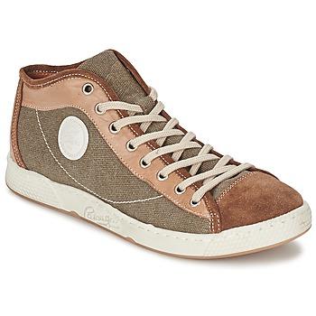 Sapatos Homem Sapatilhas de cano-alto Pataugas JAMES H Camel