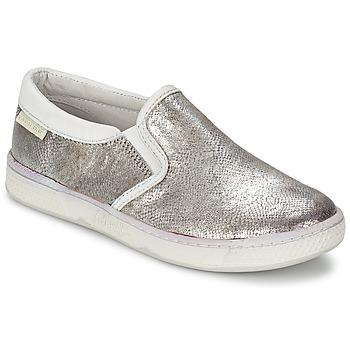 Sapatos Criança Slip on Pataugas JLIP/S Prateado
