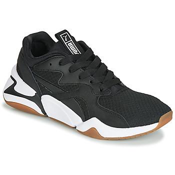 Sapatos Mulher Sapatilhas Puma WN NOVA 90'S BLOC.BL-BL Preto
