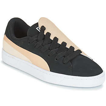 Sapatos Mulher Sapatilhas Puma WN BASKET CRUSH PARIS.SILV Preto