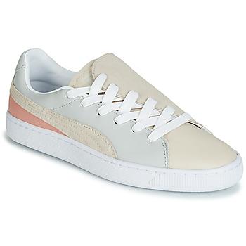 Sapatos Mulher Sapatilhas Puma WN BASKET CRUSH PARIS.GRAY Bege