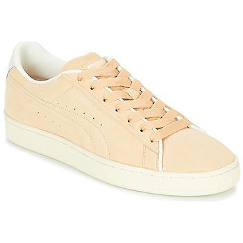 Sapatos Sapatilhas Puma SUEDE RAISED FS.NA V-WHIS Bege