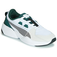 Sapatos Homem Sapatilhas Puma ZETA SUEDE.WHITE-PONDEROSA Branco