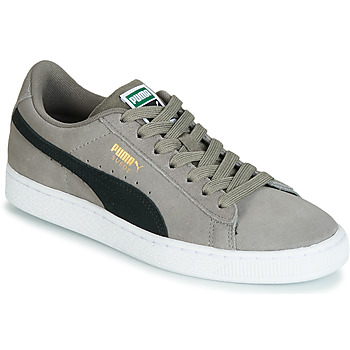 Sapatos Rapaz Sapatilhas Puma JR SUEDE CLASSIC.CHARCO-BL Cinza