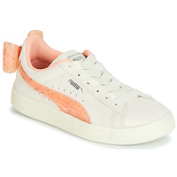 Sapatos Rapariga Sapatilhas Puma PS SUEDE BOW JELLY AC.WHIS Bege