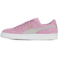 Sapatos Rapariga Sapatilhas Puma Suede Classic Jr Violeta