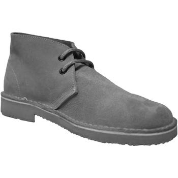 Sapatos Homem Botas Roamers  Cinza