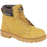 Sapatos Homem Sapato de segurança Grafters  Mel