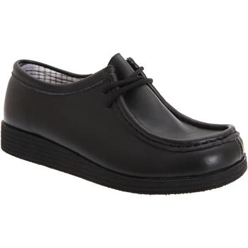 Sapatos Rapaz Sapatos Route 21  Preto