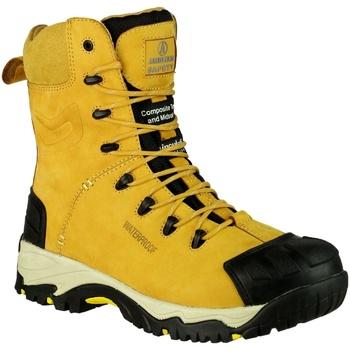 Sapatos Homem Sapato de segurança Amblers FS998 Safety Zips Mel