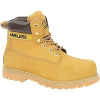 Sapatos Homem Botas baixas Amblers FS7 Mel
