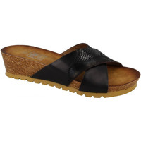 Sapatos Mulher Chinelos Down To Earth  Preto