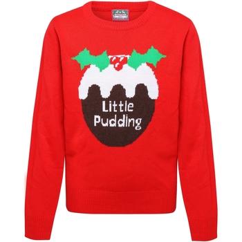 Textil Rapariga camisolas Christmas Shop CS135 Vermelho