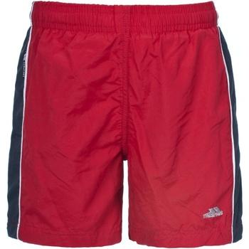 Textil Rapaz Fatos e shorts de banho Trespass Brandon Vermelho
