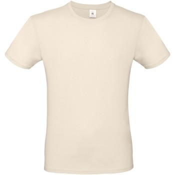 Textil Homem T-Shirt mangas curtas B And C TU01T Natural