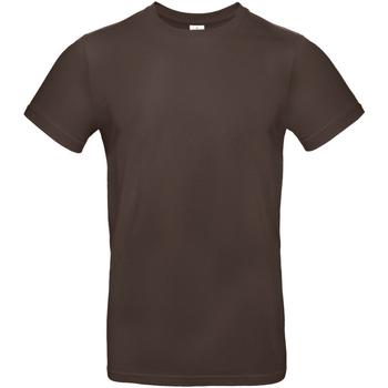 Textil Homem T-Shirt mangas curtas B And C TU03T Brown
