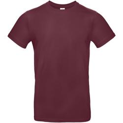 Textil Homem T-Shirt mangas curtas B And C TU03T Borgonha