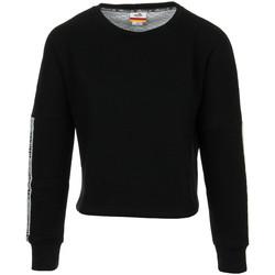 Textil Mulher Sweats Ellesse Eh F Cropped SWS Noir Preto