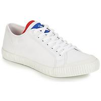 Sapatos Sapatilhas Le Coq Sportif NATIONALE Branco / Azul / Vermelho