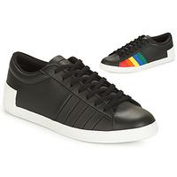 Sapatos Mulher Sapatilhas Le Coq Sportif FLAG Preto / Multicolor