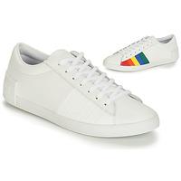 Sapatos Mulher Sapatilhas Le Coq Sportif FLAG Branco / Multicolor