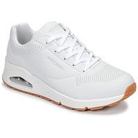 Sapatos Mulher Sapatilhas Skechers UNO Branco
