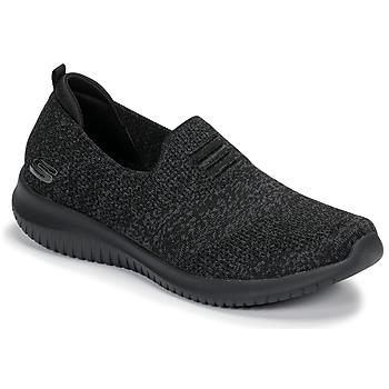 Sapatos Mulher Slip on Skechers ULTRA FLEX Preto