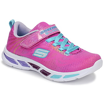 Sapatos Rapariga Sapatilhas Skechers LITEBEAMS Rosa