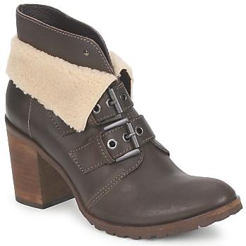 Sapatos Mulher Botins Un Matin d'Ete BRIAC Ébano