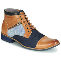 Sapatos Homem Botas baixas Kdopa ALMERIA Camel / Azul