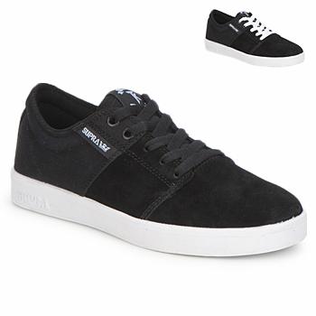 Sapatos Sapatilhas Supra STACKS II Preto / Branco