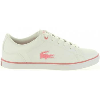 Sapatos Rapariga Sapatilhas Lacoste 36CAJ0013 LEROND Blanco