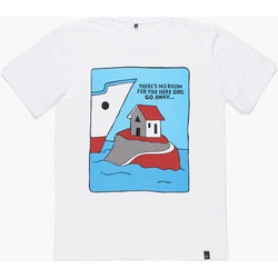 Textil Homem Camisas mangas curtas By Parra T-Shirt Little Room - White 1
