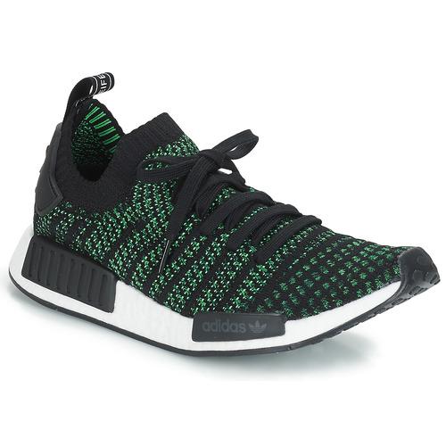 0c9272f625 adidas Originals NMD R1 STLT PK Preto   Verde - Entrega gratuita com ...