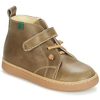 Sapatos Rapaz Botas baixas El Naturalista PAPUA Cáqui