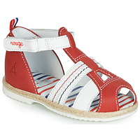 Sapatos Criança Sandálias GBB COCORIKOO Vermelho