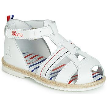 Sapatos Criança Sandálias GBB COCORIKOO Branco
