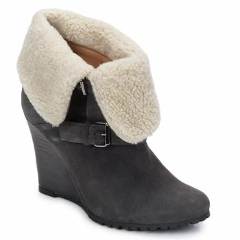 Sapatos Mulher Botins Atelier Voisin CARLA Cinza