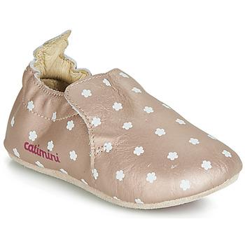 Sapatos Rapariga Chinelos Catimini CARA Rosa / Ouro