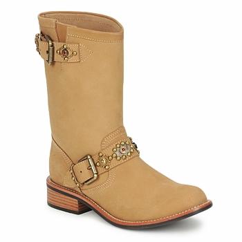 Sapatos Mulher Botas baixas Miss L'Fire MCQUEEN Bege