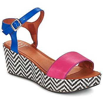 Sapatos Mulher Sandálias Betty London COQUETTE Fúchsia  / Azul