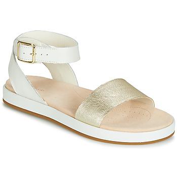 Sapatos Mulher Sandálias Clarks BOTANIC IVY Branco