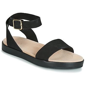 Sapatos Mulher Sandálias Clarks BOTANIC IVY Preto