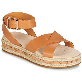 Sapatos Mulher Sandálias Clarks BOTANIC POPPY Castanho