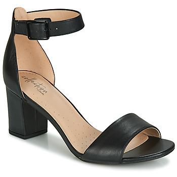 Sapatos Mulher Sandálias Clarks DEVA MAE Preto