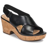 Sapatos Mulher Sandálias Clarks MARITSA LARA Preto
