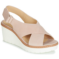 Sapatos Mulher Sandálias Clarks PALM CANDID Cru