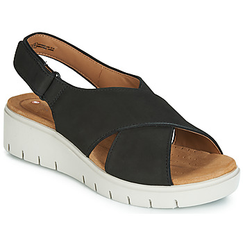 Sapatos Mulher Sandálias Clarks UN KARELY SUN Preto